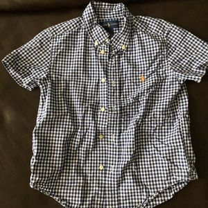 Boys Ralph Lauren (short sleeves) sz 6